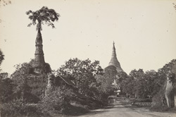 Southern approach to Shoay Dagon Pagoda, Rangoon